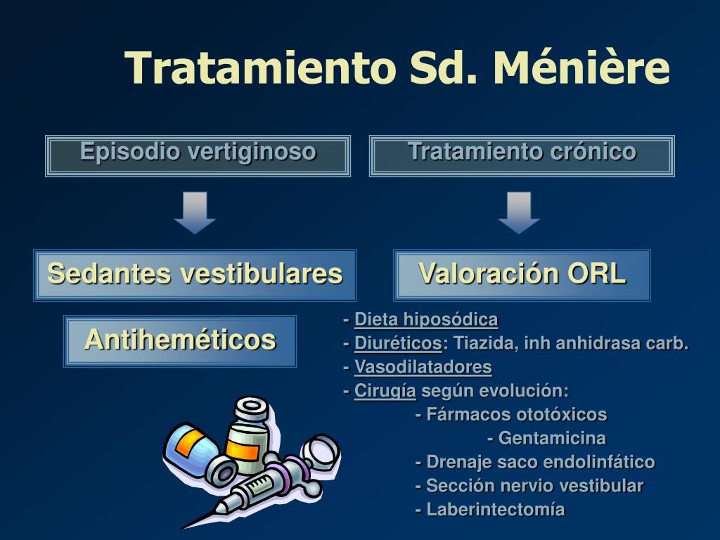 Tratamiento Sd. Ménière