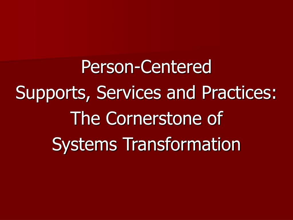 Person-Centered