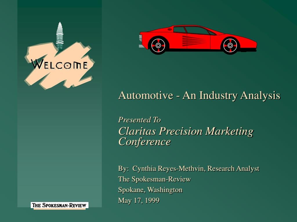 Automotive - An Industry Analysis