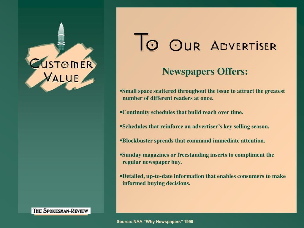 Newspapers Offers: