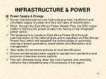 infrastructure power