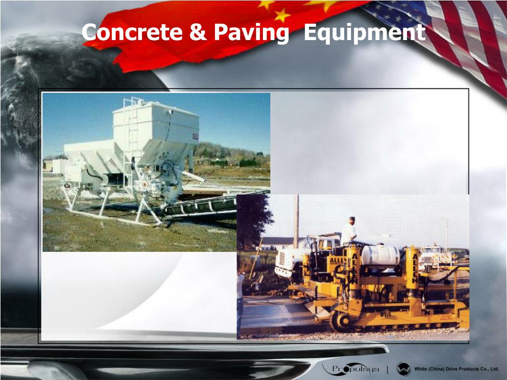 Concrete & Paving  Equipment