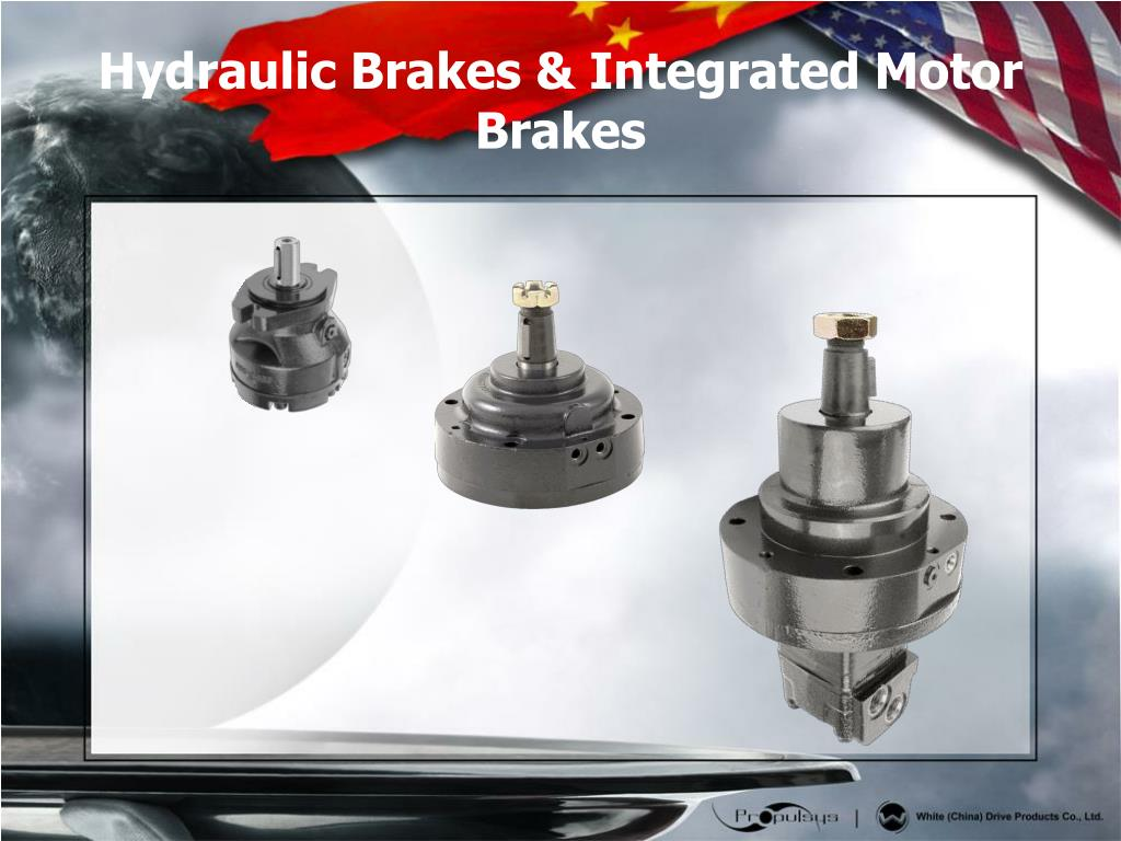 Hydraulic Brakes & Integrated Motor Brakes
