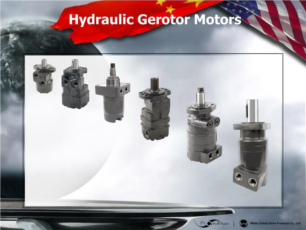 Hydraulic Gerotor Motors