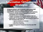 information technologies strategies