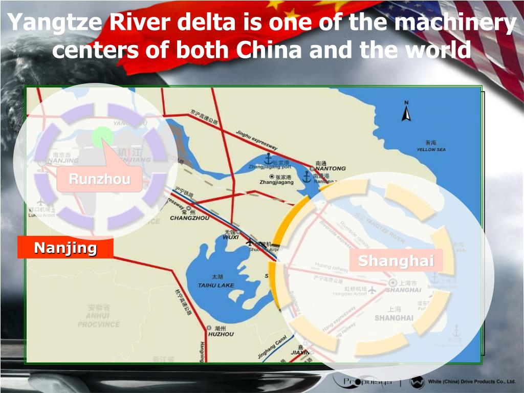 Yangtze River delta is one of the machinery centers of both China and the world