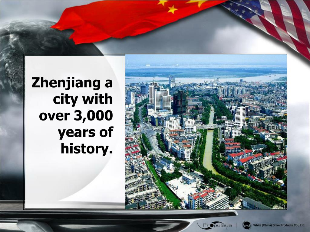 Zhenjiang a city with over 3,000 years of history.