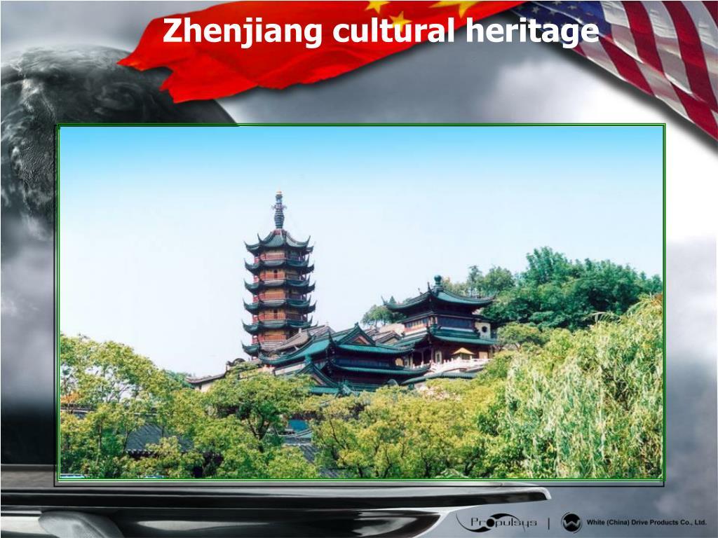 Zhenjiang cultural heritage