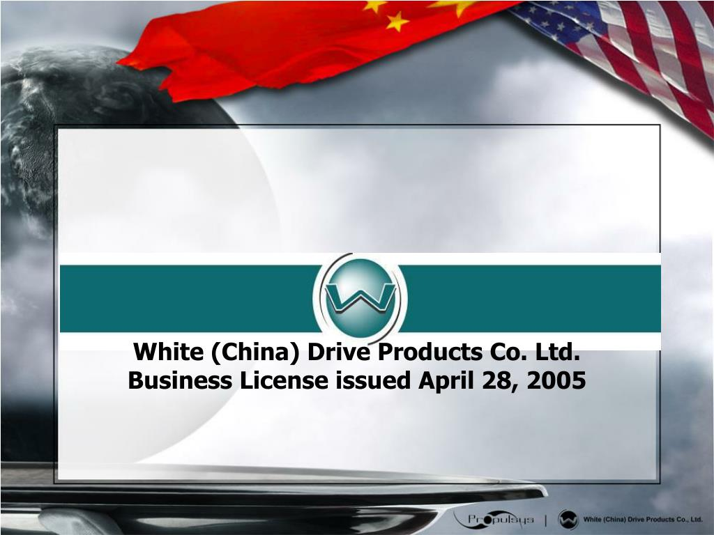 White (China) Drive Products Co. Ltd.