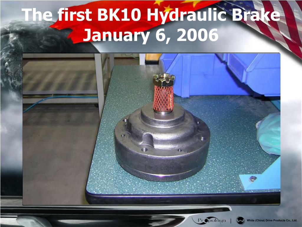 The first BK10 Hydraulic Brake January 6, 2006