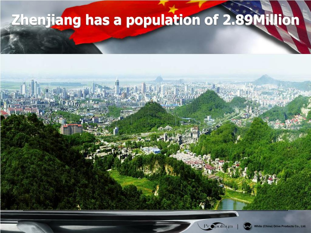 Zhenjiang has a population of 2.89Million