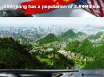 zhenjiang has a population of 2 89million