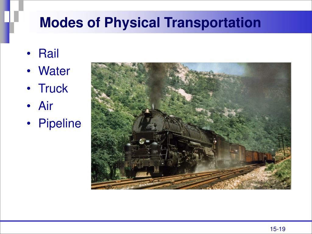 Modes of Physical Transportation