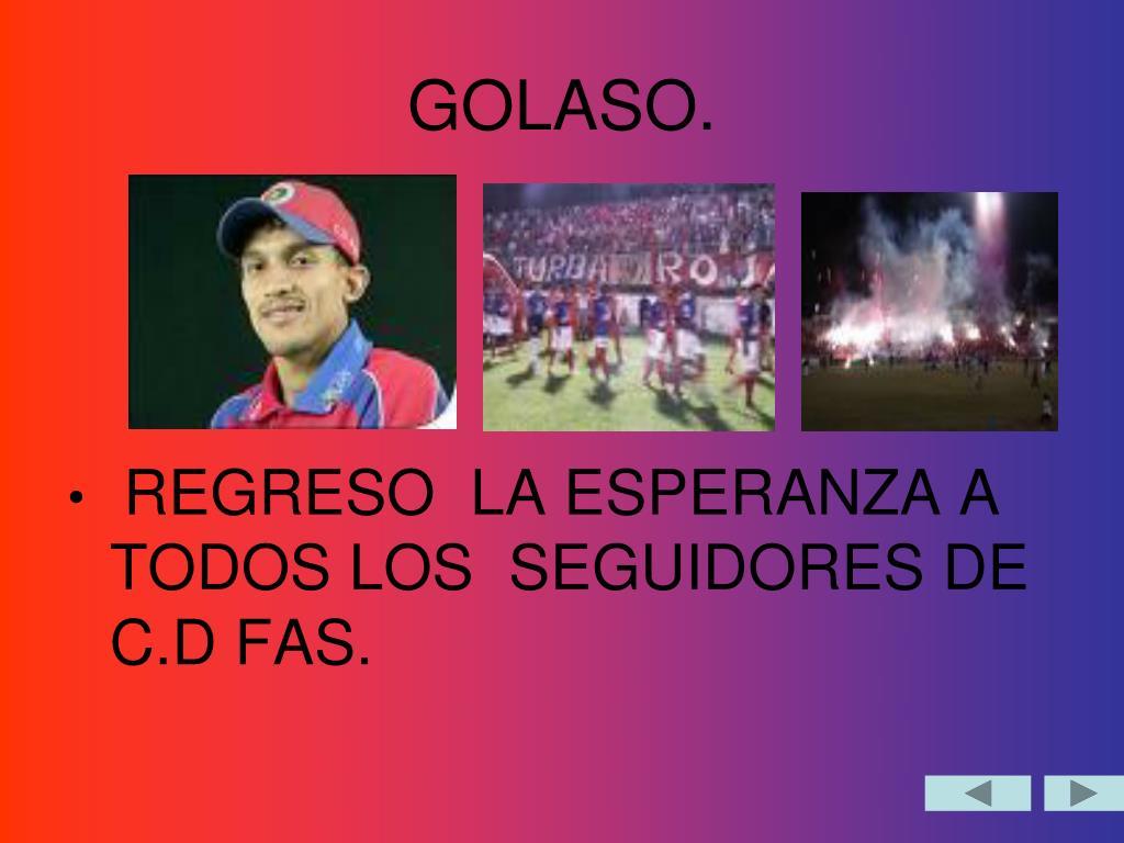 GOLASO.