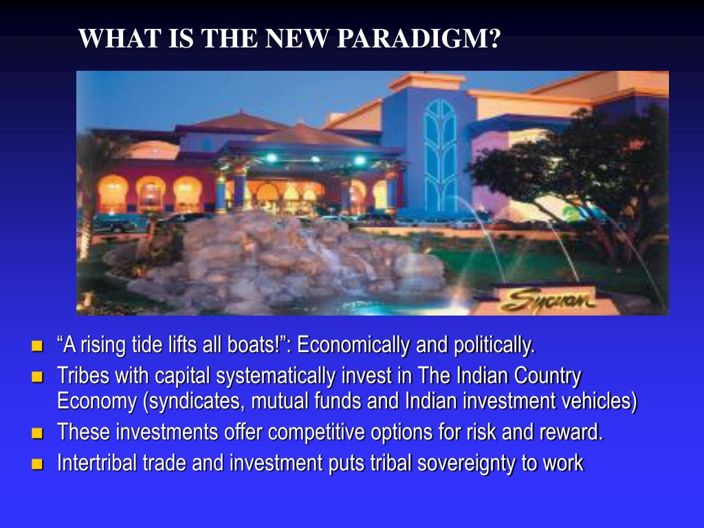 WHAT IS THE NEW PARADIGM?