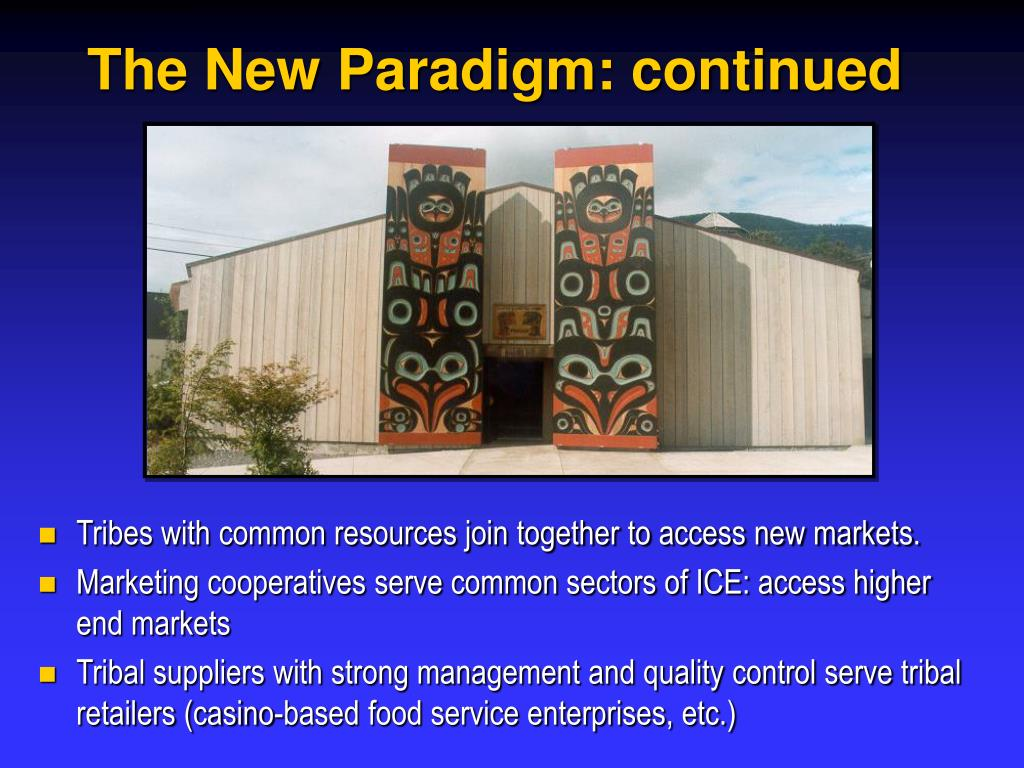 The New Paradigm: continued