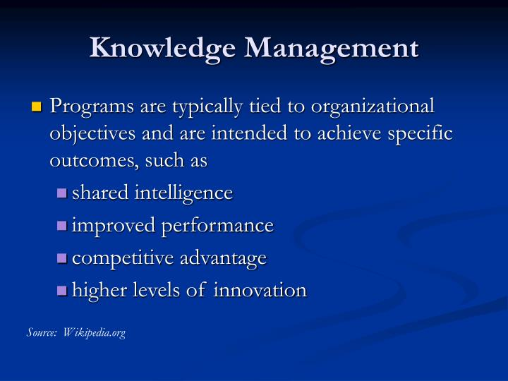 Knowledge management3