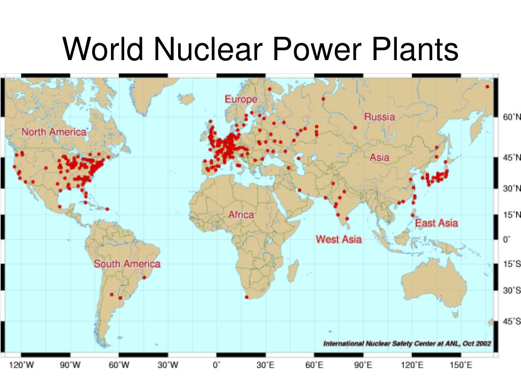 World Nuclear Power Plants