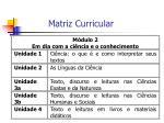 matriz curricular27