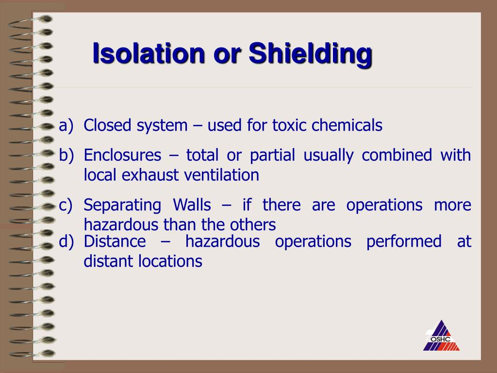 Isolation or Shielding