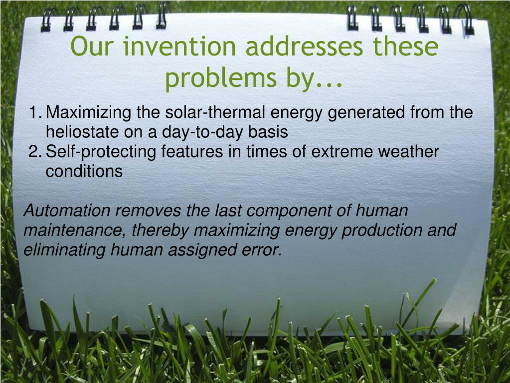 Our invention addresses these