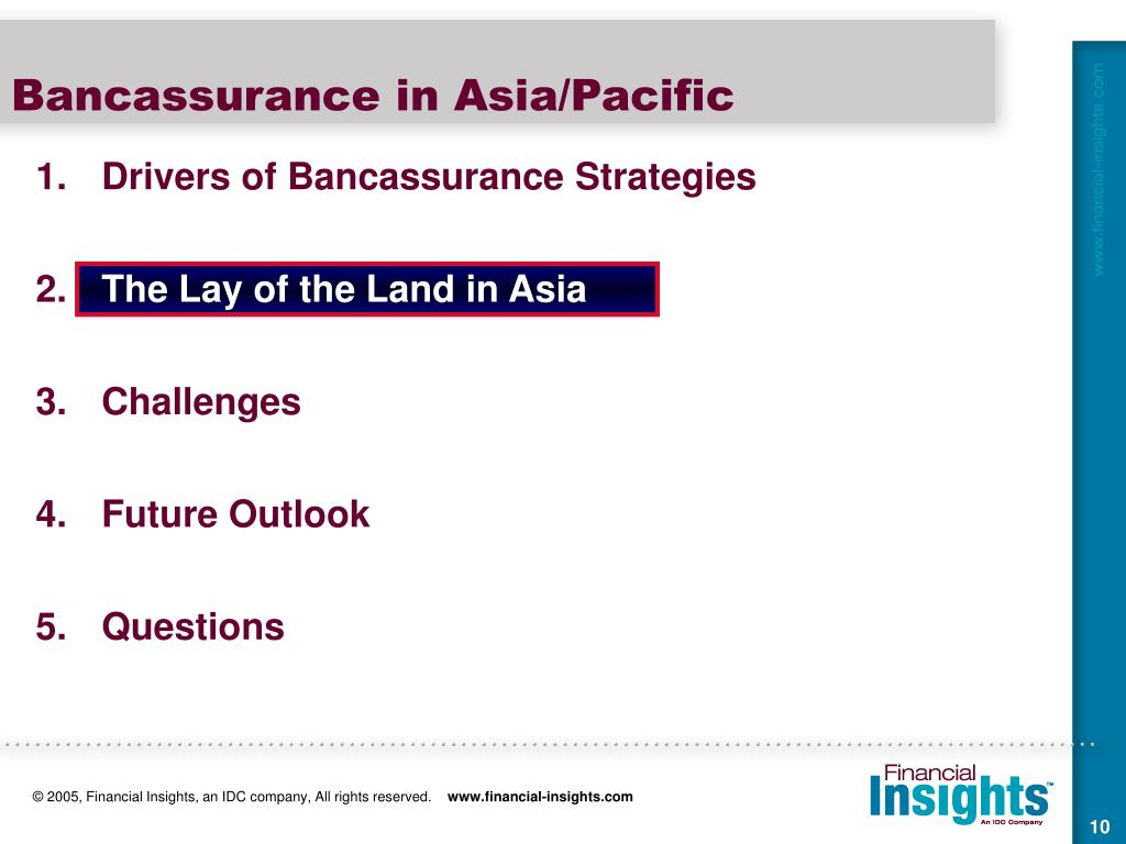 bancassurance in asia Hsbc tops asia bancassurance league hsbc insurance's products and services are evolving differently around the world, responding to different cultures and customer needs.