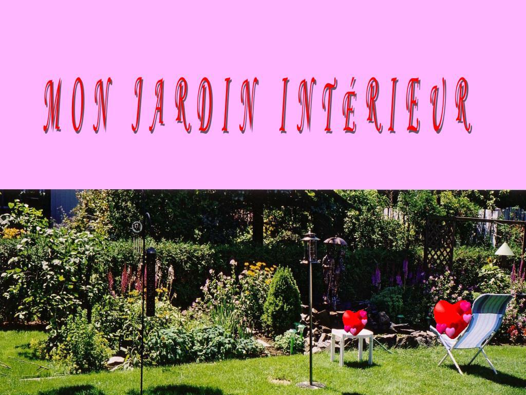 MON JARDIN INTÉRIEUR