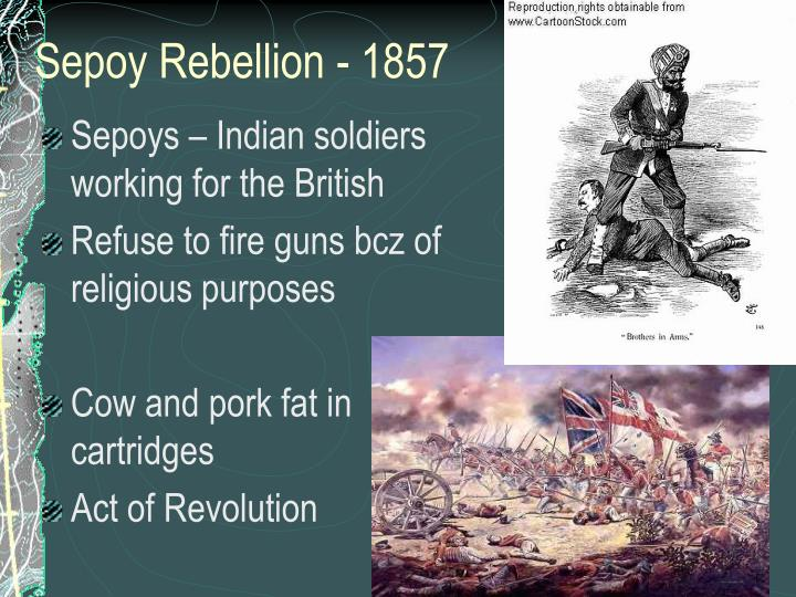 Sepoy Rebellion - 1857