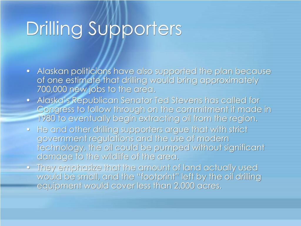 Drilling Supporters