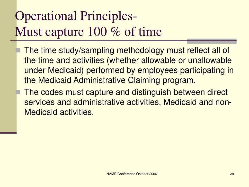 Operational Principles-
