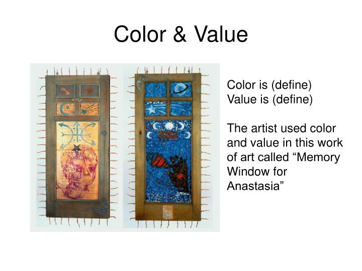 Value Definition In Art : Ppt the art of betye saar powerpoint presentation id