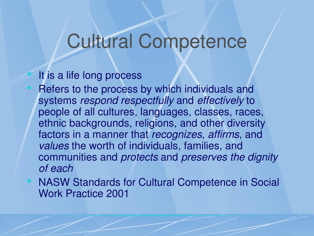 increasing cultural competence in the field of The ccnms were effective in increasing the cultural competence of the  the ccnms were launched in 2007 after a comprehensive national field.