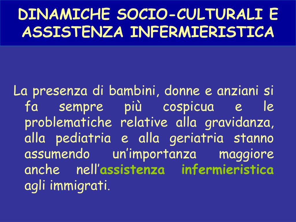 DINAMICHE SOCIO-CULTURALI E