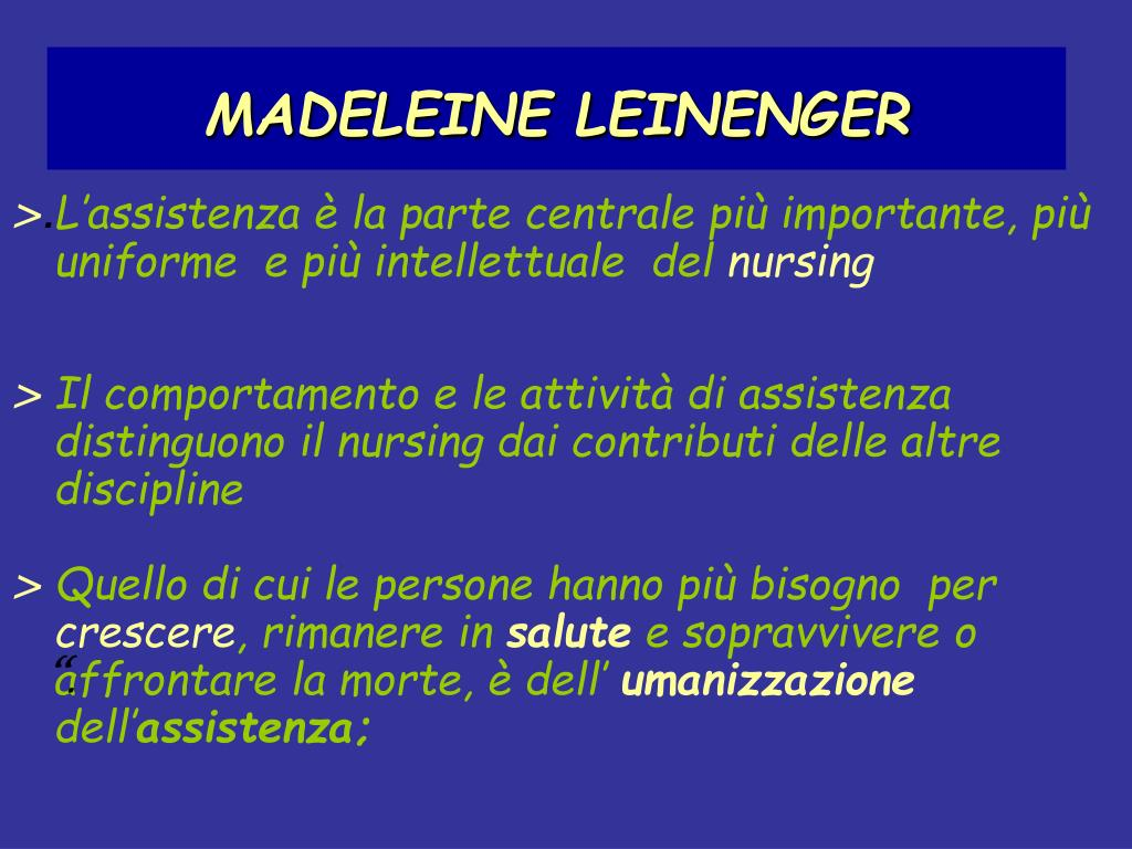 MADELEINE LEINENGER
