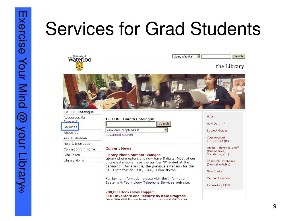 Services for Grad Students