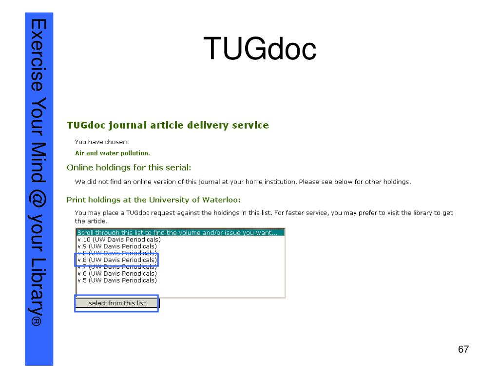 TUGdoc