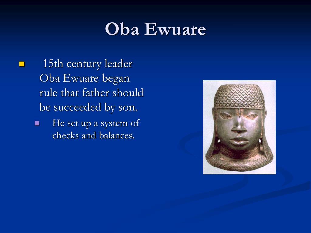 Oba Ewuare