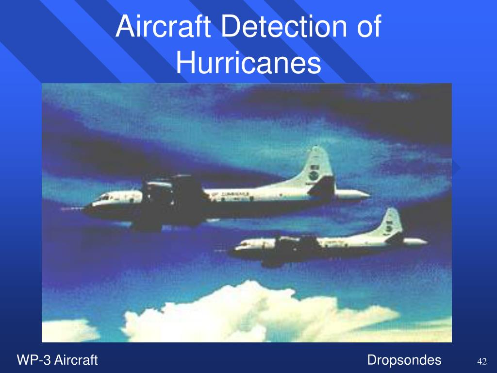 Aircraft Detection of Hurricanes