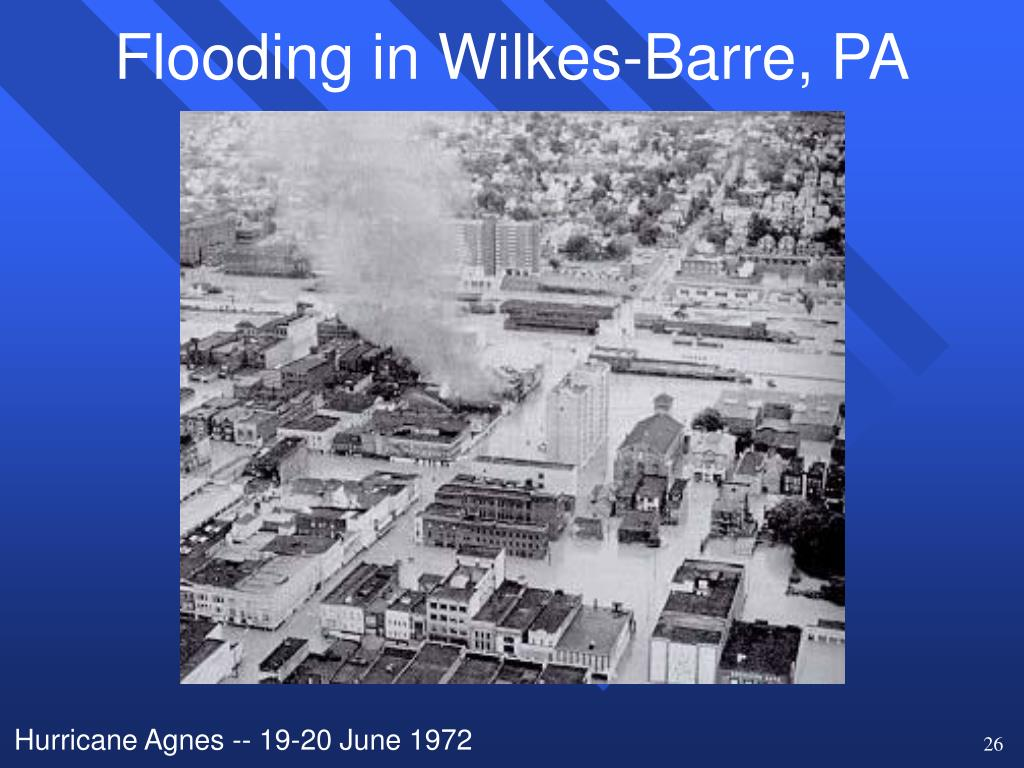 Flooding in Wilkes-Barre, PA
