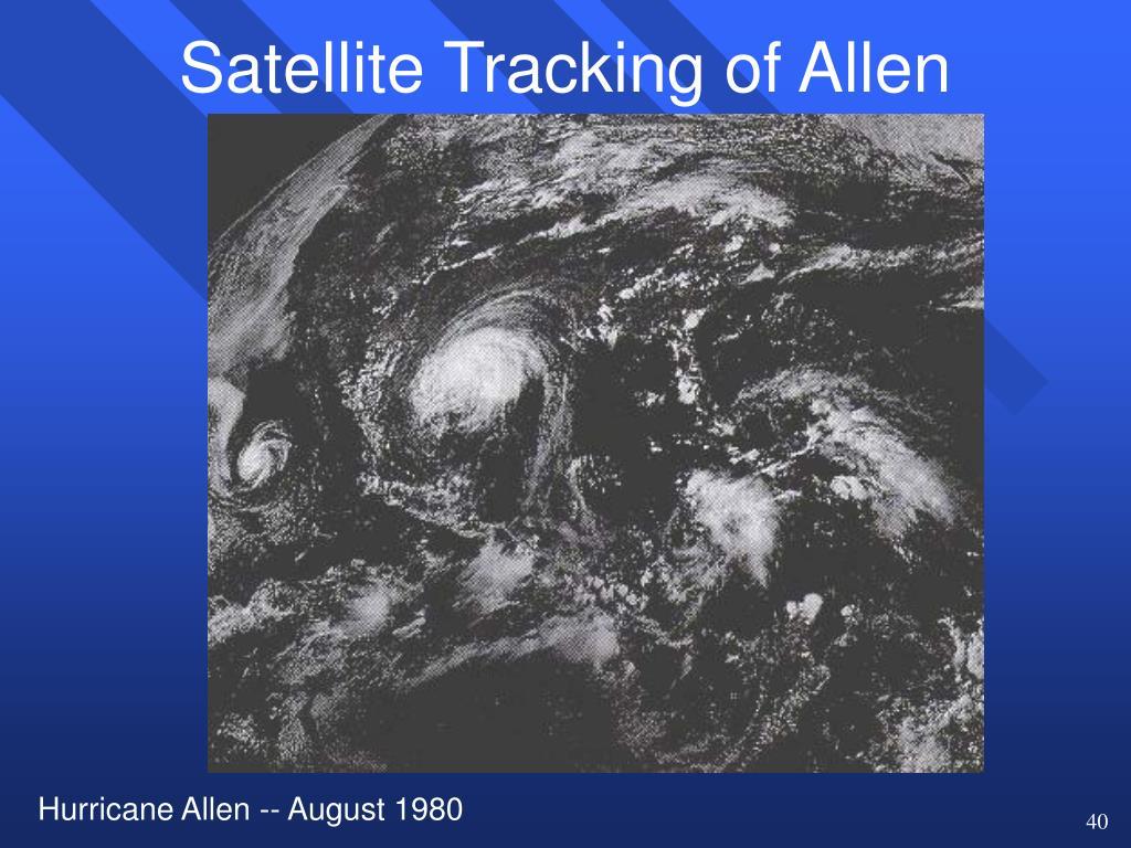 Satellite Tracking of Allen