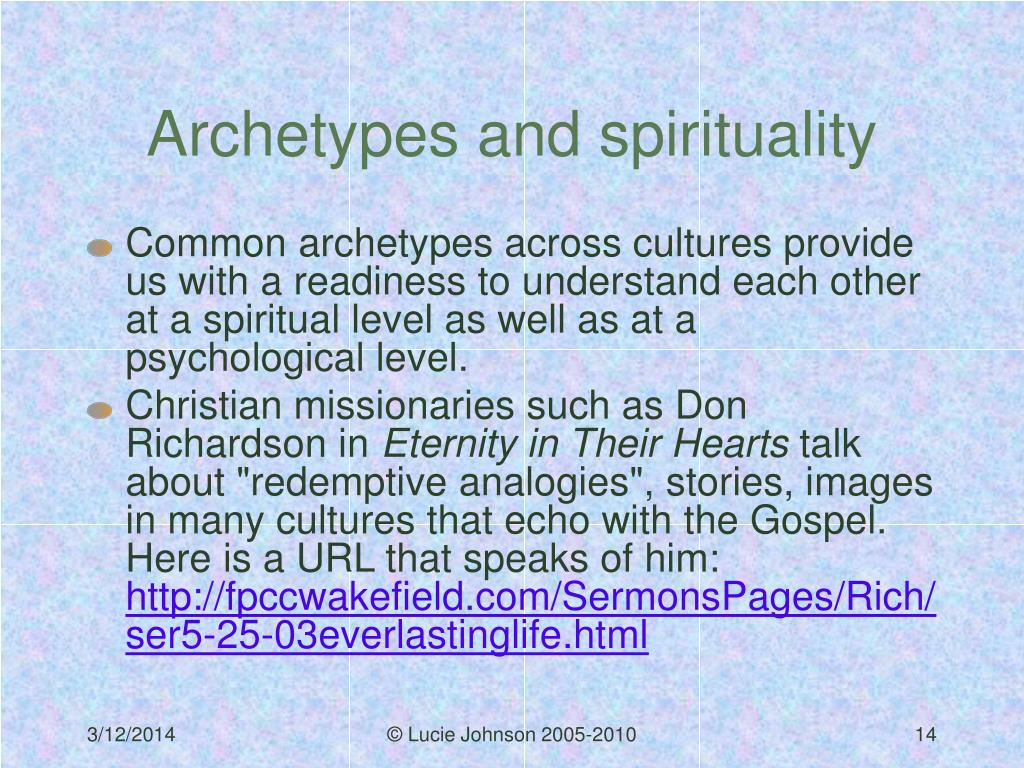 Archetypes and spirituality