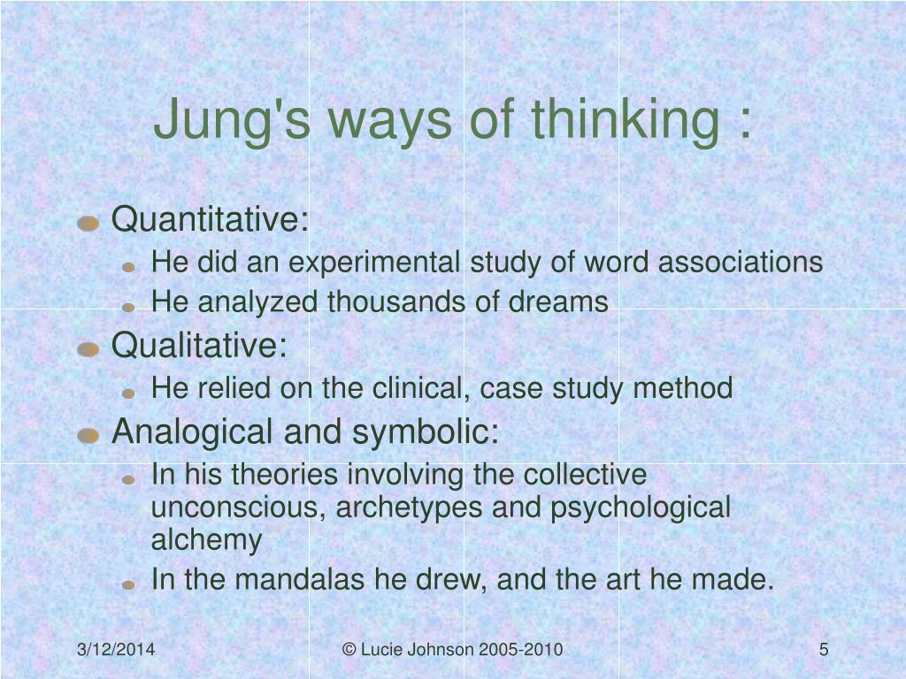 Jung's ways of thinking :