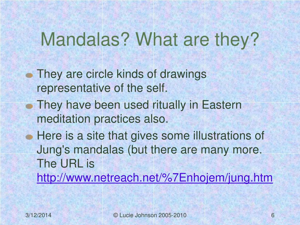 Mandalas? What are they?
