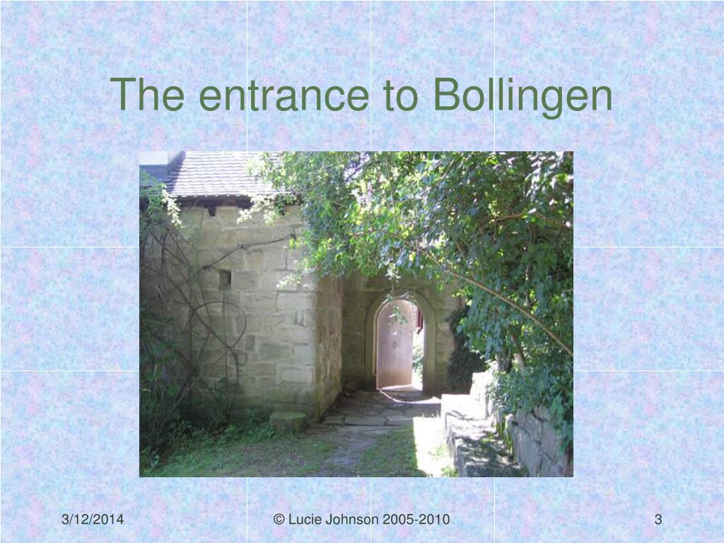 The entrance to Bollingen