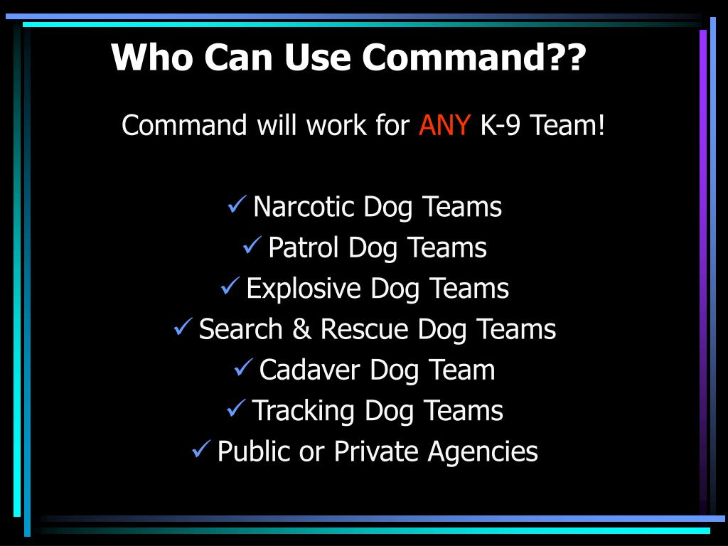 Who Can Use Command??