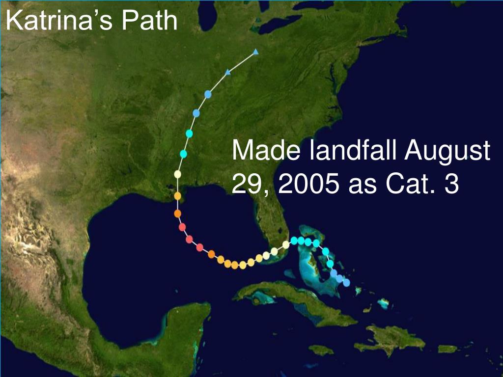Katrina's Path