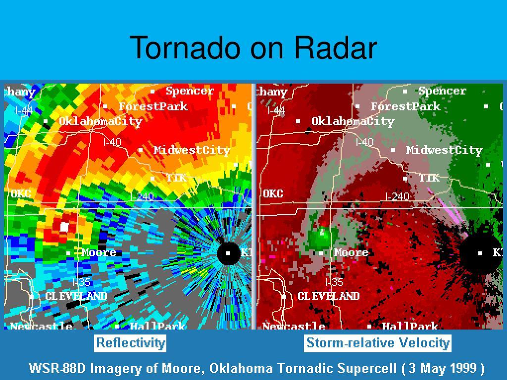 Tornado on Radar