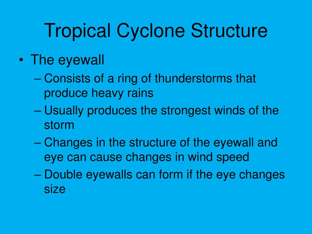 Tropical Cyclone Structure