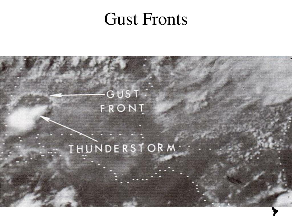 Gust Fronts