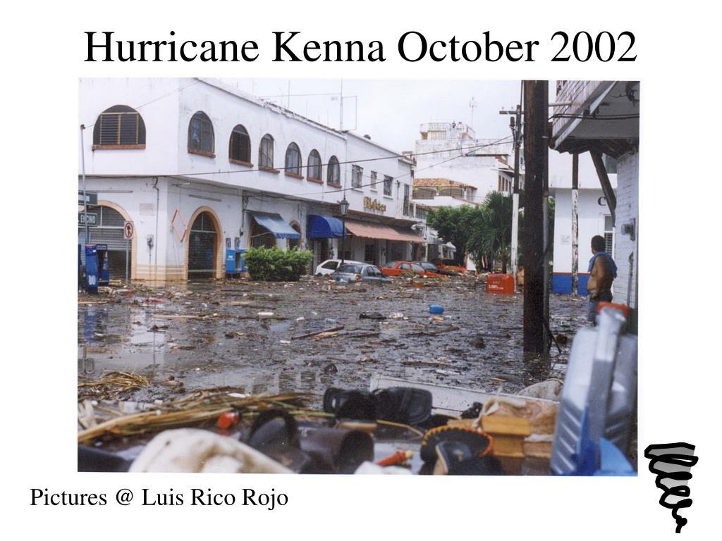Hurricane Kenna October 2002